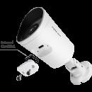 FOSCAM G4EP 4 MP SUPER HD POE IP ÜBERWACHUNGSKAMERA (WEISS)